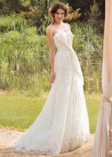 Свадебное платье из коллекции «Sole Mio» а-силуэта