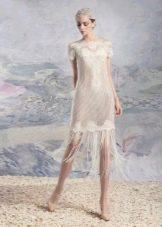 Прямое свадебное платье от Папилио 2016