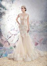Кружевное свадебное платье от Папилио 2016