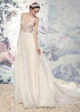 Свадебное платье из коллекции «Эллада» со шлейфом