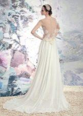 Свадебное платье из коллекции «Эллада» с открытой спиной