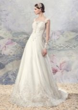 Свадебное платье из коллекции «Эллада» с кружевом