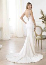 Свадебное платье с открытой спиной от Проновиас