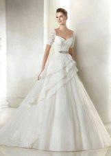 Свадебное платье из коллекции Dreams от San Patrick многослойное