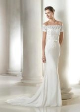 Свадебное платье из коллекции Fashion от San Patrick с приспущенными плечами