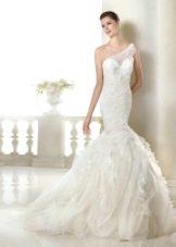 Свадебное платье из коллекции Dreams от San Patrick на одно плечо
