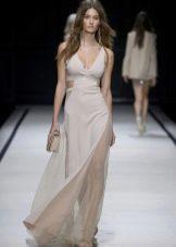 Вечернее платье с вырезами сексуальное