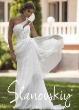 Свадебное платье греческое от Слановски