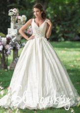 Пышное свадебное платье от бренда Слановски