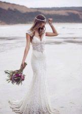 Свадебное платье из коллекции Spirit от Анны Кэмпбелл из кружева