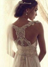 Свадебное платье со стразами от Анны Кэмпбелл