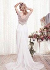 Свадебное платье Giselle от Анны Кэмбелл вид со спины