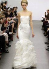 Свадебное платье белое от Веры Вонг 2013 русалка