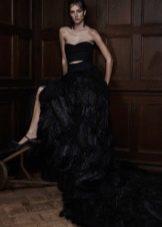 Свадебное платье от Веры Вонг 2016 черное