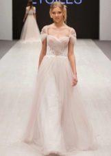 Свадебное платье от Ange Etoiles с драпировкой