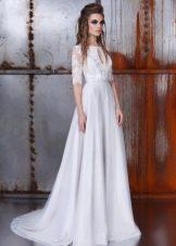 Кружевное свадебное платье от Ange Etoiles
