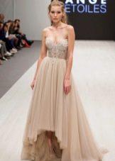 Свадебное платье от Ange Etoiles хай-лоу