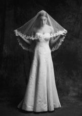 Свадебное платье от Anne-Mariee из коллекции 2015 а-силуэта