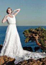 Свадебное платье от Anne-Mariee из коллекции 2014 в греческом стиле