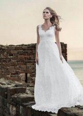 Свадебное платье от Anne-Mariee из коллекции 2014 не пышное