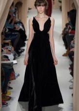 Вечернее платье от Валентино бархатное