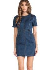 6fbc30503ae Джинсовые платья: длинные, короткие, с чем носить платья из денима и ...