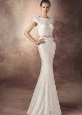 Свадебное платье от Avenue Diagonal прямое