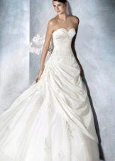 Свадебное платье от White One с драпировкой