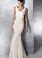 Свадебное платье от White One простое