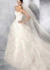 Свадебное платье от White One пышное