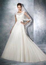 Свадебное платье от White One а-силуэта