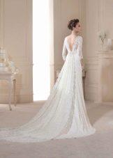 Свадебное платье от Novia D Art с открытой спиной