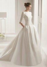 Свадебное платье от Rosa Clara закрытое
