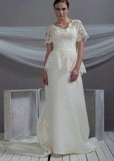 Свадебное платье от Morbar с кружевом
