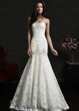 Свадебное платье от Amelia Sposa из кружева