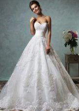 Свадебное платье от Amelia Sposa пышное