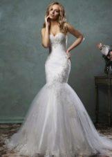 Свадебное платье от Amelia Sposa рыбка