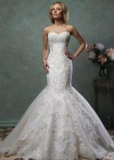 Свадебное платье от Amelia Sposa русалка