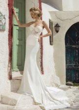 Свадебное платье от Lanesta со шлейфом