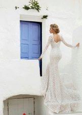Свадебное платье от Lanesta кружевное