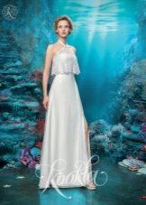 Свадебное платье прямое от бренда Кукла