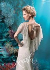 Свадебное платье из коллекции Ocean of Dreams от Kookla с открытой спиной