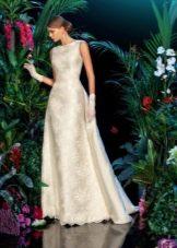 Песочное свадебное платье от бренда кукла
