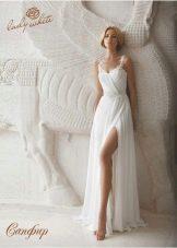 Свадебное платье из коллекции Diamond от Lady White с разрезом