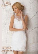 Свадебное платье из коллекции Diamond от Lady White короткое