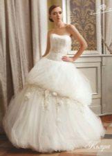 Свадебное платье пышное из коллекции 2012