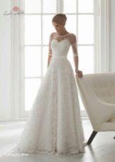 Свадебное платье кружевное от Леди вайт