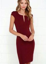 Фалунский красный оттенок платья