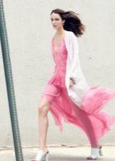 Верхняя одежда под шифоновое платье