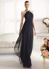 Греческое платье с драпировкой